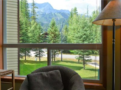 Photo for 2-bedroom condo with mountain views