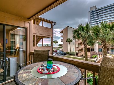 Photo for Remodeled Family Friendly Condo - Steps to the Beach! Close to Attractions!