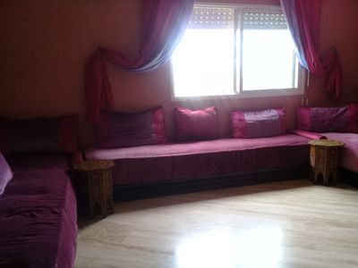 Photo for Nice, spacious and clean quiet apartment in Mohammedia