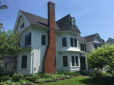 "Photo for Beautiful Renovated ""Queen Anne"" Victorian in Heart of Village"