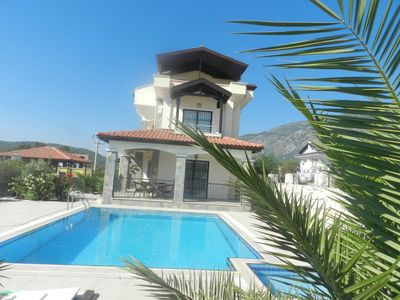 Photo for Villa Cetin 3 Bedroom Luxury Private Villa. With nice  garden and pool is located in Hisaronu Oludeniz.