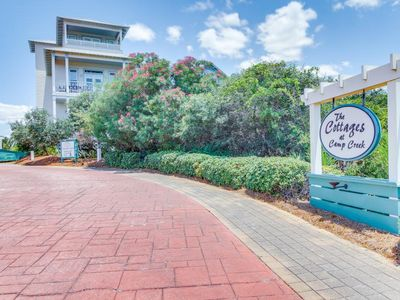Photo for Two cottages with a shared pool & hot tub - close to the beach!