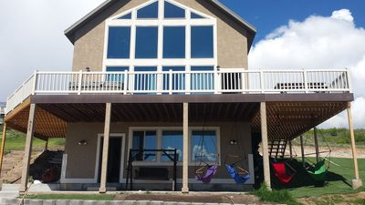 Photo for Grandma's Lake House! Pool Access!  Private Hot Tub!  Sleeps 26!