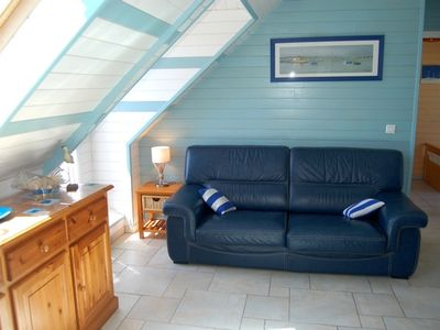 Photo for The house of the beautiful beach overlooking the ocean and beach near Carnac