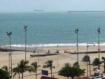 Fortaleza able Vista-sea, Furnished, Season, Tourism, Business, Air Split.