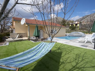 Photo for Rental home Ružić -all year open heated pool with anti-allergy system