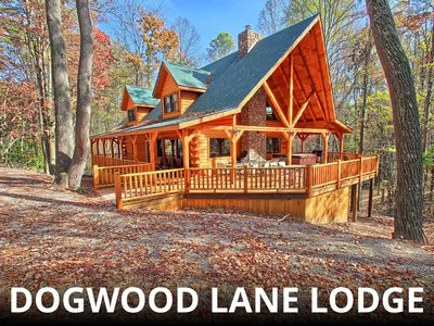 Photo for Stunning, 18-Person  Lodge, near Old Man's Cave! Family-Friendly!