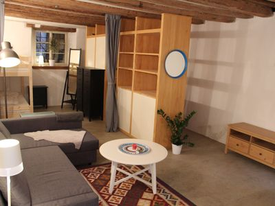 Photo for Garden suite located near lake, train station, shops and restaurants
