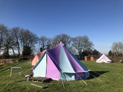 Photo for Fully-Equipped Bell Tent 3
