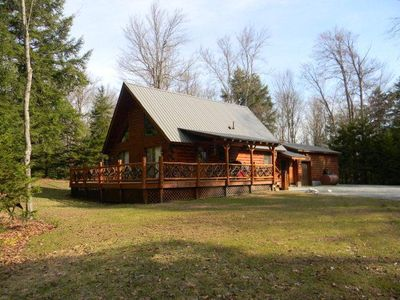Photo for Immaculate Chalet in Old Forge with waterfront lot