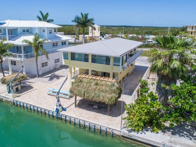 Photo for Gorgeous 3 bedroom 3 bath deep water canal front home