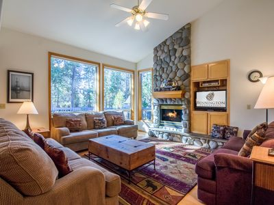 Photo for Wonderful home with fun layout, ping pong, 2 master suites, hot tub - SPLI13