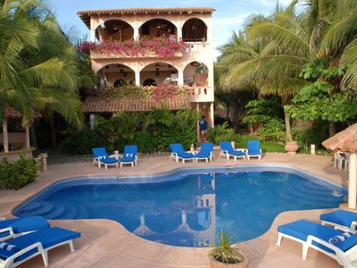 Photo for The Beachfront Villas & Bungalows of Casa De La Sirena