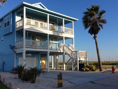 Photo for FALL SPECIALS - CLASSIC BEACH HOME-Ocean views, btween Padre Is & Port Aransa