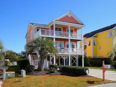 Photo for Absolute Bliss - Enjoy Beautiful Ocean and Waterway Views!  Great Screened Porch!