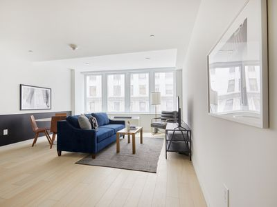 Photo for Sonder | Wall Street | Relaxed 1BR + Lounge