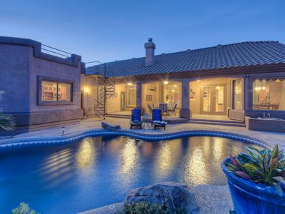 Photo for Amazing Home w/Casita on Acre Lot; Great City Views; Option to Heat Pool and Spa