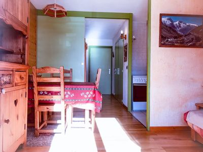 Photo for Charming apartment in Village 1800 in LES 2 ALPES station
