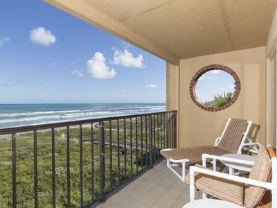 Photo for Top Floor Penthouse, Endless Views, Vautled Ceilings, Hot Tub, Pool, BBQ, Tennis, Beachfront, Beachfront, Beachfront!