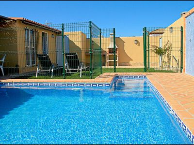 Photo for Bungalow with private swimming pool