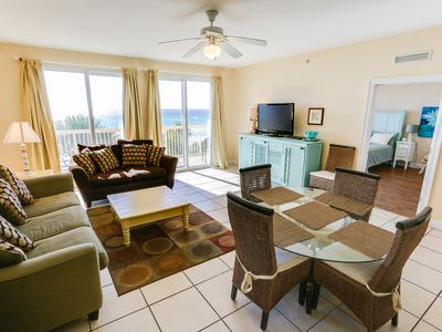 Photo for Beautiful condo in Calypso, 3rd floor with Beach chairs set.