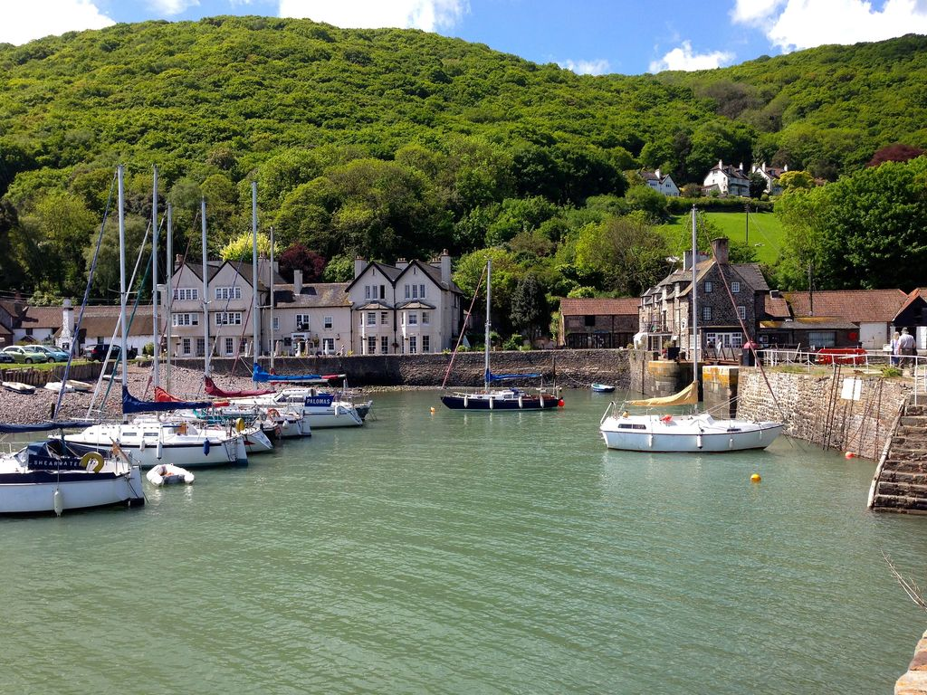 Picturesque Porlock Harbour Is Rox 1 5 Miles From Our Cottage Lovely Walk