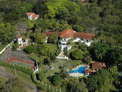 Photo for Exclusive 33,000sqft Estate, $12,000wk-8people, AC, Ocean view, Chef, staff 10