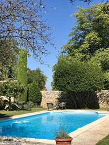 Photo for Beautiful property, with swimming pool and quiet garden, in the center of Saint-Rémy!