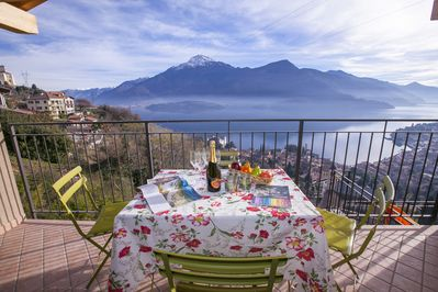 Amazing lake view from the terrace