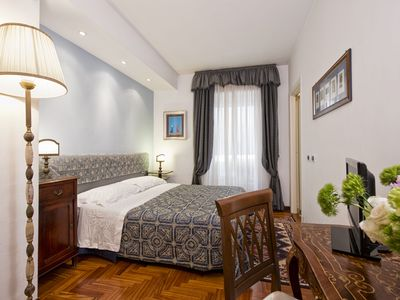Photo for Le Sibille B & B - Blue Room - Rome center a few steps from the Vatican Museums
