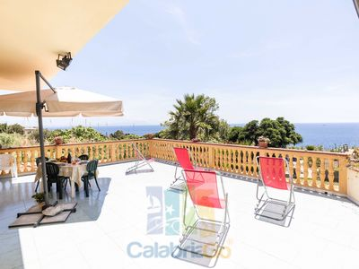 Photo for Villa Jole with Sea View and Aeolian Islands