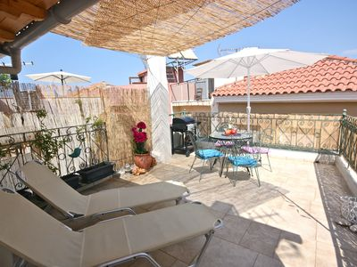 Photo for 17th-cent.Villa in the heart of the picturesque Old town with sun terrace & BBQ.
