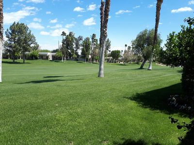 Photo for Luxurious 2 bedroom Townhouse on  golf course in Desert Princess resort