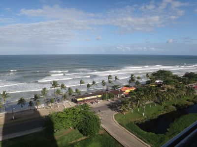Photo for Beachfront apartment, south beach in Ilhéus, fantastic view and structure.