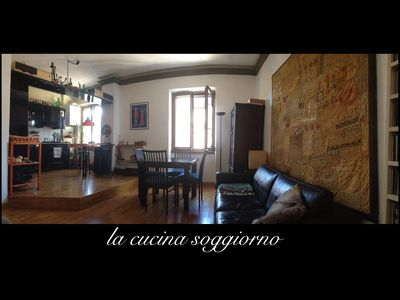 Photo for Elegant and comfortable apartment between Trastevere and Monteverde Vecchio