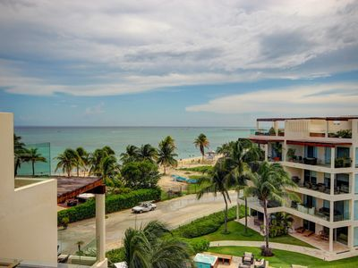Photo for Amazing BEACH FRONT PENTHOUSE spectacular ocean views! Private Beach + 5th Av
