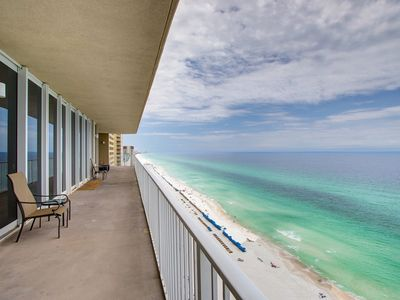 Photo for Vacation In Luxury! Penthouse At Grandview East-Gulf Front w Huge Balcony!