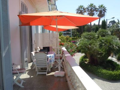 Photo for Cannes Centre - Former palace - Apartment conditioning - Terrace 16M2