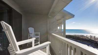 Photo for Directly on the Beach - Private Balcony! Oceanfront Master Suite!