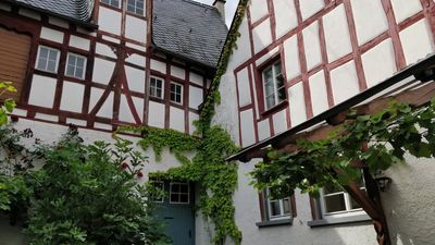 Photo for Charming half-timbered house (1597) in the historic center of Pünderich