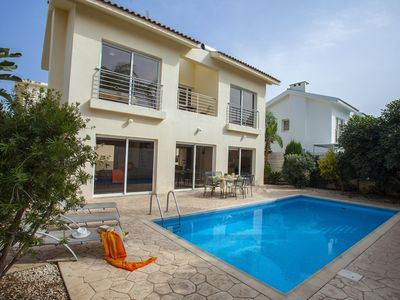 Photo for Protaras Villa Cliantha Near Fig Tree Bay Beach