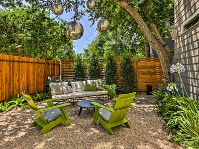 Photo for Modern Austin House w/Deck & Yard Near Attractions