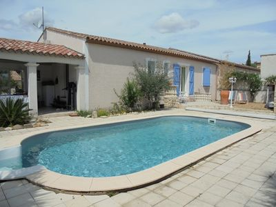 Photo for Charming villa with private pool and fenced garden in a quiet location.
