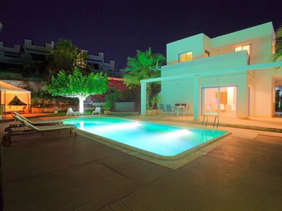 Photo for Modern Contemporary 3 Bed Villa only 50 metres from the Beach.