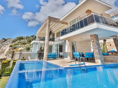 Photo for Luxury 4 Bedroom Villa In Kalkan. Private Pool, Table tennis & Pool Table