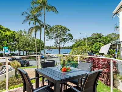 Photo for Newly Listed Regatta Noosa, North Facing with River views