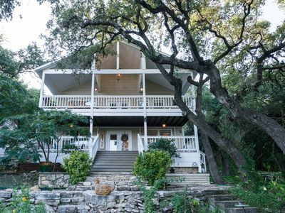 Photo for Remodeled Historic Lakefront Gem Overlooking Lake Travis and Jones Brothers Park