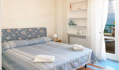 Photo for CASA FILANGIERI is a sea-view apartment in the center of Vico Equense