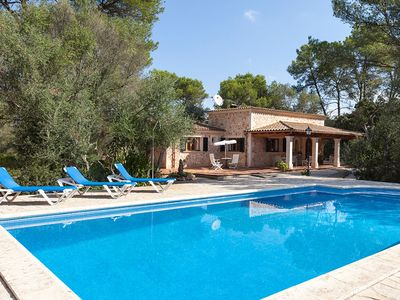 Photo for Can Lloret - Charming Villa with Private Pool in Peaceful Location ! - Free WiFi