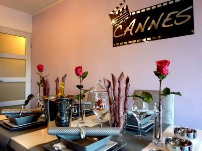Photo for NEW !! ''CANNES-CENTER'' Cosy  high standing apartment in the heart of Cannes